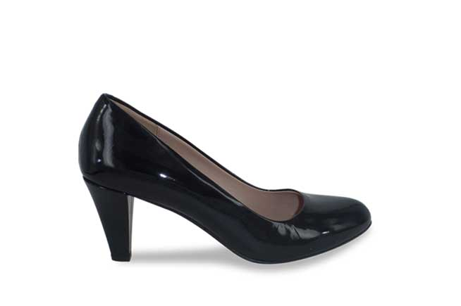 Picture of AMBER ROSSI Heel - Black Patent
