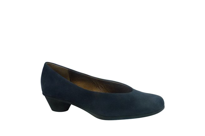 Picture of ARCHE Mid Heel - Navy