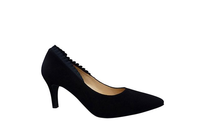 Picture of BZ Frill Heel - Black