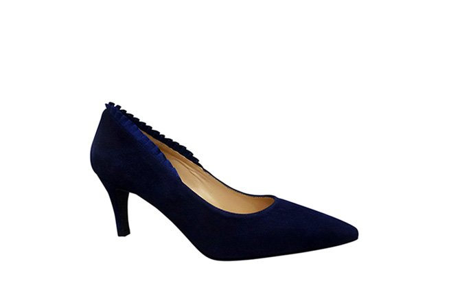 Picture of BZ Frill Heel - Navy