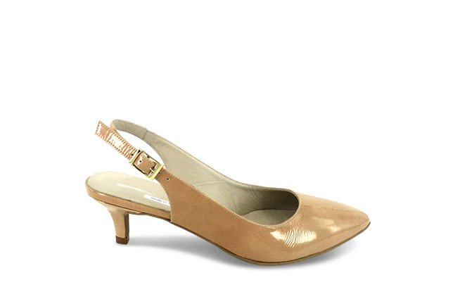 Picture of BZ Kitten Heel - Taupe
