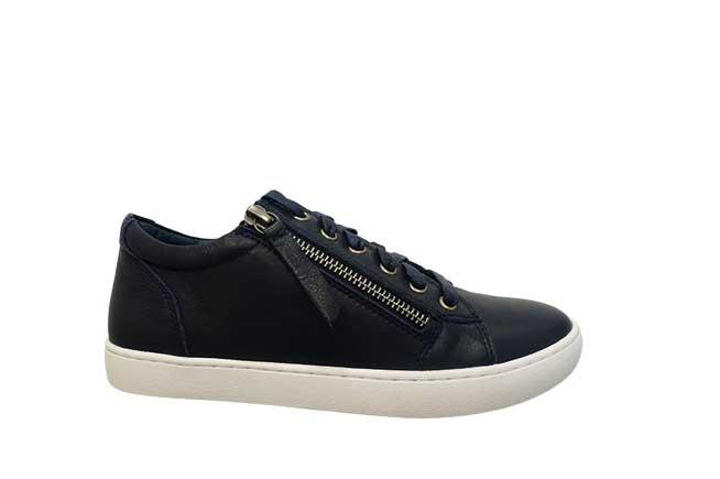 Picture of GELATO Side Zip Sneaker - Navy