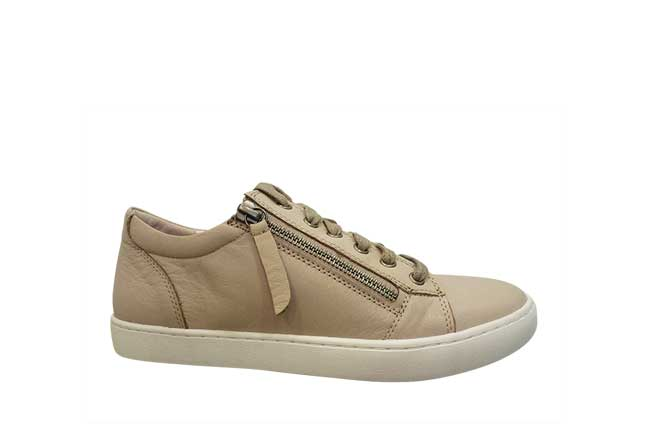 Picture of GELATO Side Zip Sneaker - Taupe