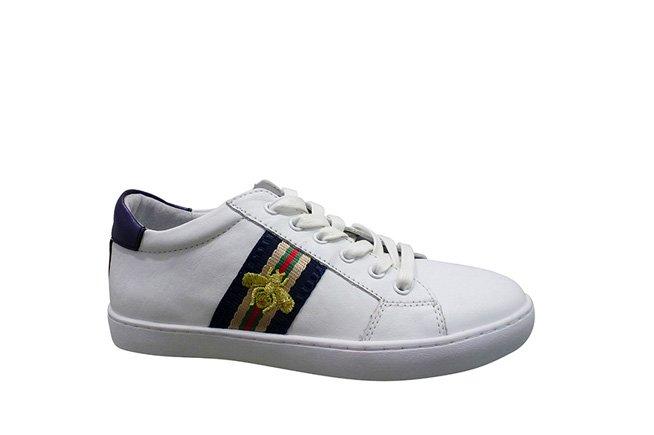 Picture of GELATO Queenie Bee Sneaker - White