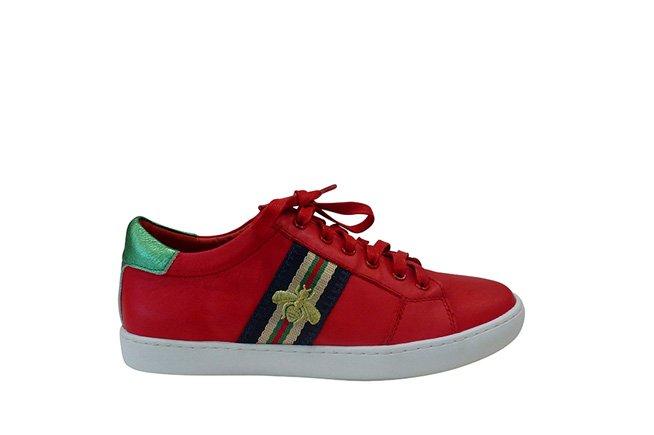 Picture of GELATO Queenie Bee Sneaker - Red